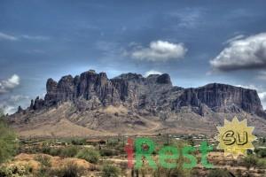 Горы Суеверия, штат Аризона, США