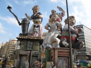 Фальяс в Испании