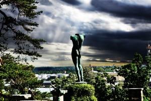 Сад скульптур в Стокгольме
