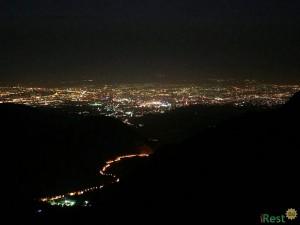 Алма-Ата с Талгарского перевала