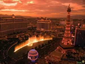 Рассвет в Лас-Вегасе