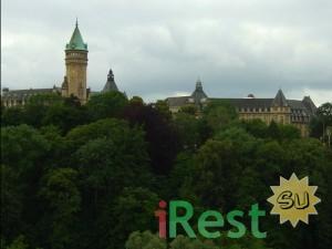 люксембург. местный сбербанк