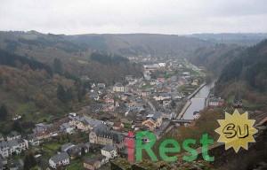 люксембург. деревня вианден