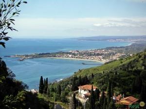 Остров Сицилия. Вид с вершины