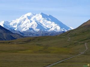 Северная Америка. Гора Мак Кинли