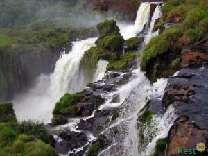 Северная Америка. Водопады