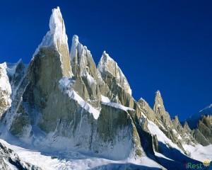 Аргентина зимой. Горы