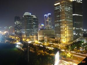 Ночная столица Индонезии