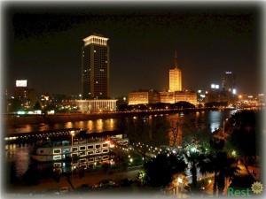 Ночной Каир. Фото
