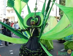 Карнавал в Ноттинг-Хилле. Лондон