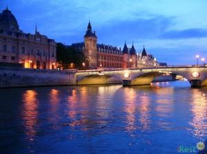 Париж. Река Сенна