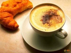 Обычный французский завтрак