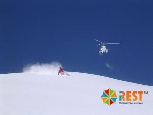 Хели-ски (Heli-skiing). Фото 1