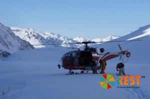 Хели-ски (Heli-skiing). Фото 2