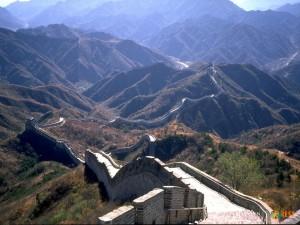 Великая китайская стена. Фото