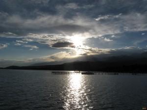 Горячее озеро Иссык - Куль