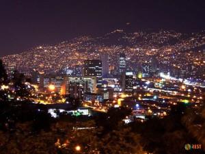Крупнейший город Колумбии Медельин