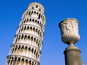Пизанская башня. Фото