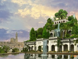 Висячие сады Семирамиды