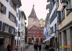 Цюрих. Старый город