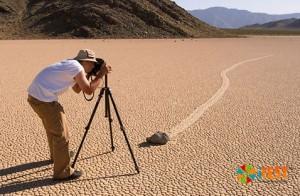 Исследование феномена блуждающих камней