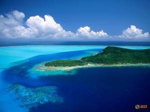 Остров Бора-Бора. Фото