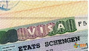 Шенгенская виза. Фото