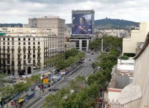 Улица Passeig de Gracia