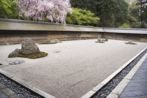 Сад камней Рёандзи. Фото 3