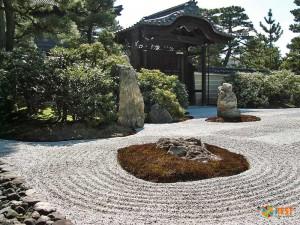 Сад камней Рёандзи. Фото 2