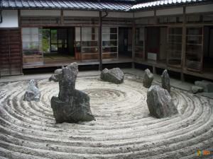 Сад камней Рёандзи. Фото 1
