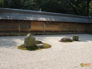 Сад камней Рёандзи. Фото 4