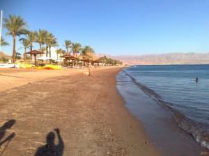 Один из пляжей в Таба