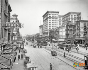 Новый Орлеан в конце 19 века