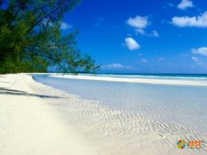 Пляж на Багамских островах