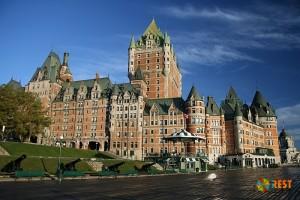Замок Фронтенак, Канада