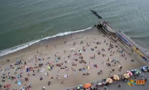 Пляж в Светлогорске