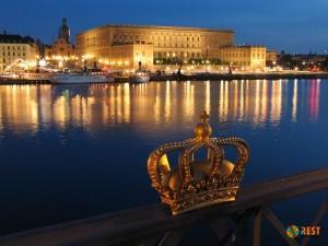 Королевский дворец в Стокгольме. Фото  2