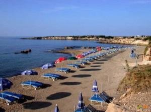 Фото пляжа на Пафосе