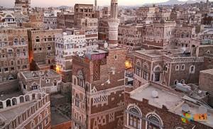 Сана - старый город