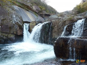 Водопад Лаборейро в округе Виана-ду-Каштелу на севере страны