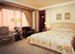 Hotel Kunlun - интерьер номера