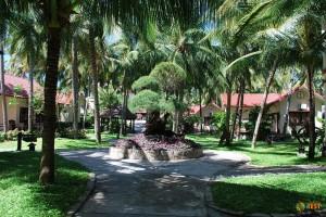 Муйне, сад одного из отелей