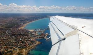 Подлет к острову Тенерифе
