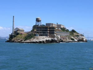 Тюрьма на острове Алькатрас