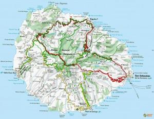Остров Гомера (карта)