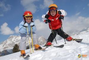 Лучшие европейские горнолыжные курорты для детей