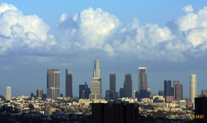 Лос-Анжелес со смотровой площадки