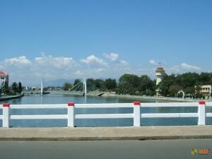 Одно из самых красивых мест Фантьета - подвесной мост