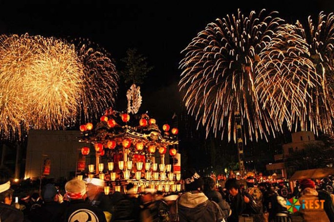 Фестиваль Chichibu Yomatsuri